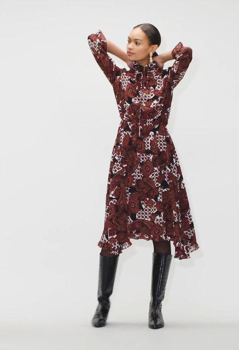 RINALDAH19 : Dresses color PRINT