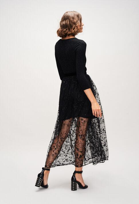 SALOMEEH19 : Skirts & Shorts color BLACK