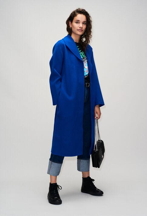 GRACIEUXH19 : Coats & Jackets color ROYAL BLUE