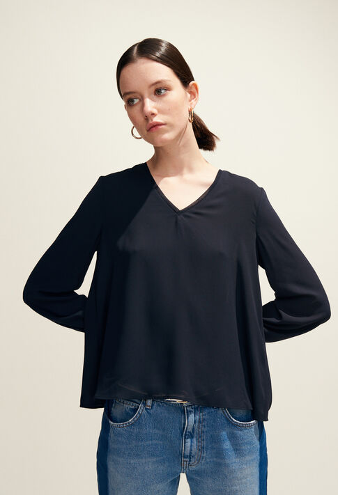 BRETZEL : Tops & Shirts color Navy