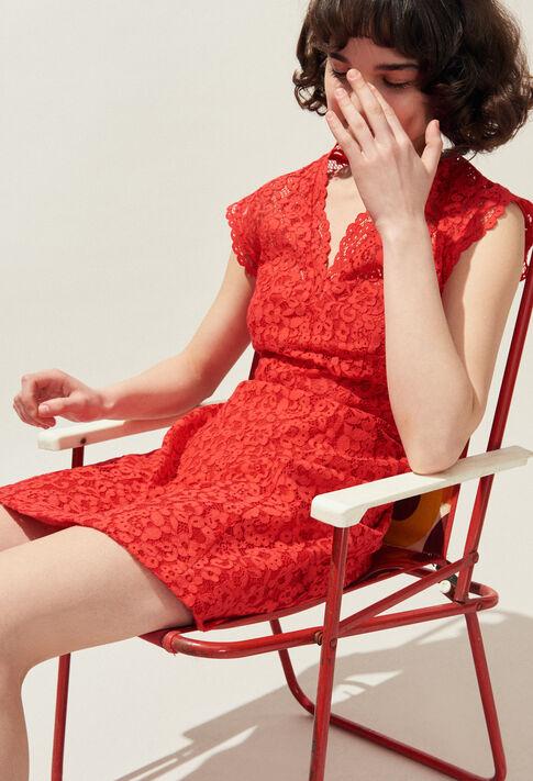 RESET : Dresses color Ecarlate