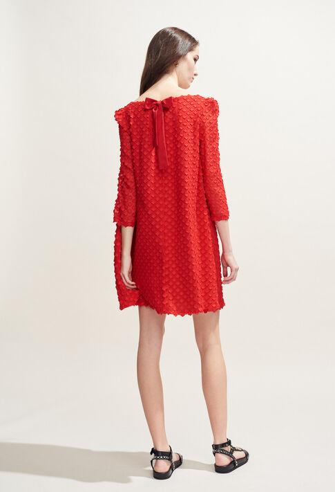 RIFIFI NUAGE : Dresses color Ecarlate