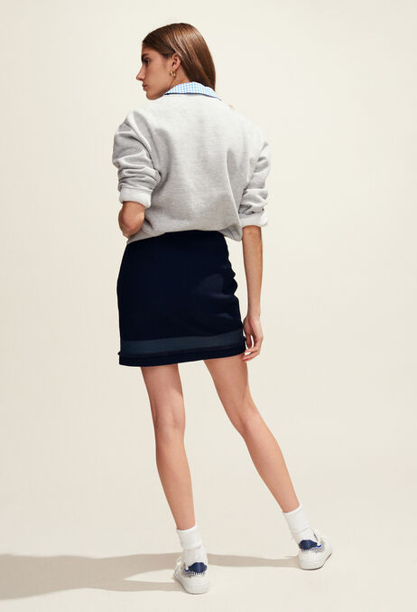 SAXO : Jupes et Shorts couleur MARINE