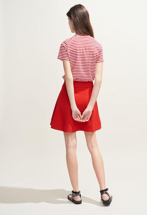 SEYA : Skirts & Shorts color Ecarlate