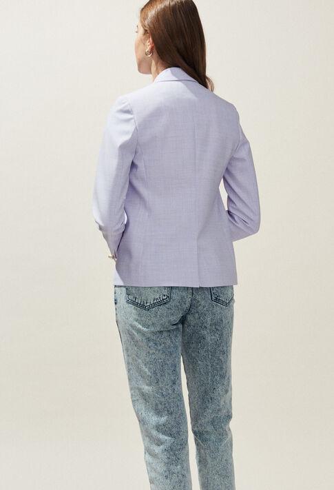 VIVA : Coats & Jackets couleur Lilas