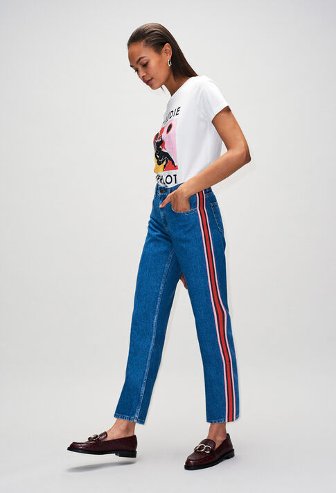 PRISCAH19 : Jeans & Pants color JEAN