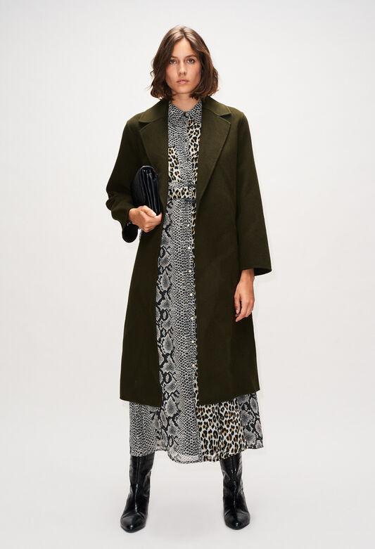 GINH19 : Coats & Jackets color KAKI ARMY