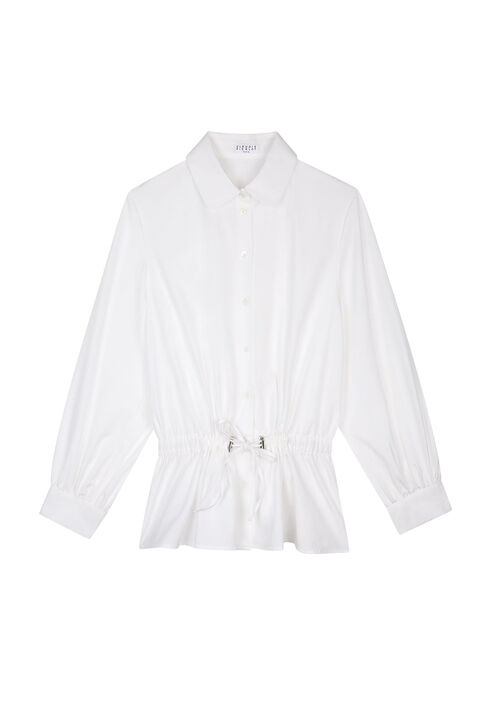 CHACHOU : Tops color White