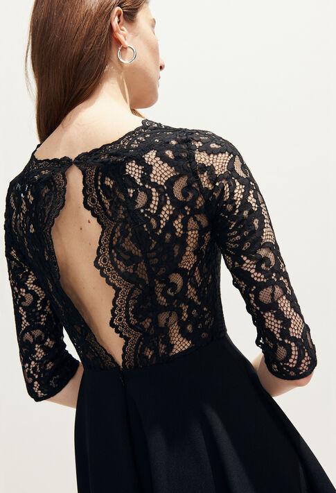 RHODES : Robes couleur Noir