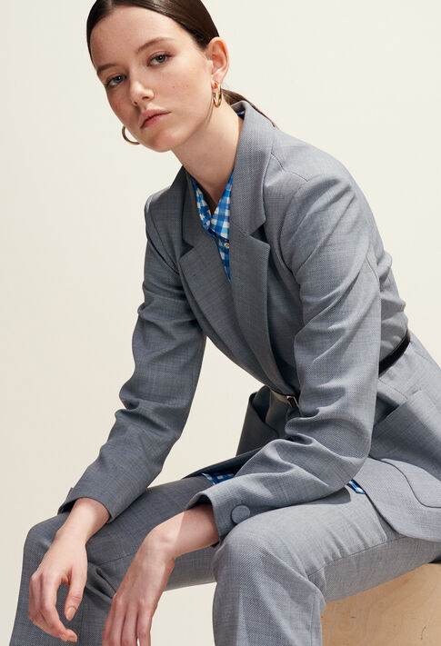 VALENTINA : Vestes couleur Gris Chine