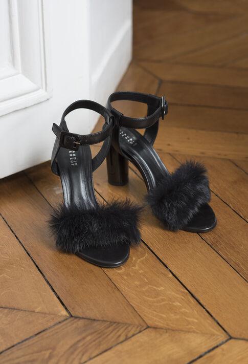 AMOSCOU : Les Chaussures & Accessoires couleur NOIR