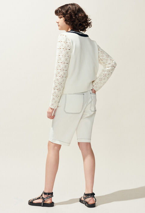 MAINATE : Knitwear & Sweatshirts color Ecru