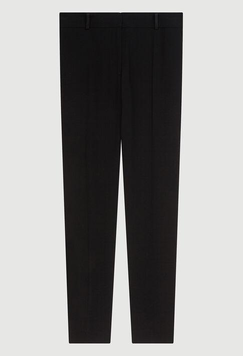 POULINH19 : Pantalons et Jeans couleur NOIR