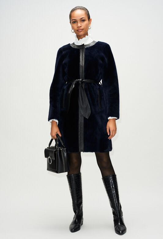 FLEURH19 : Coats & Jackets color NAVY