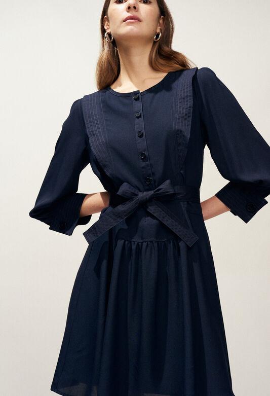RIHANE : Robes couleur MARINE