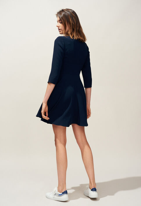 RAINA : Dresses color Navy