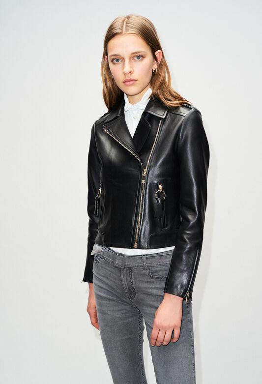 CHARMYH19 : Coats & Jackets color BLACK