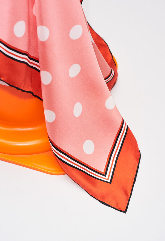 AMOUREUSEH19 : Scarves color PRINT