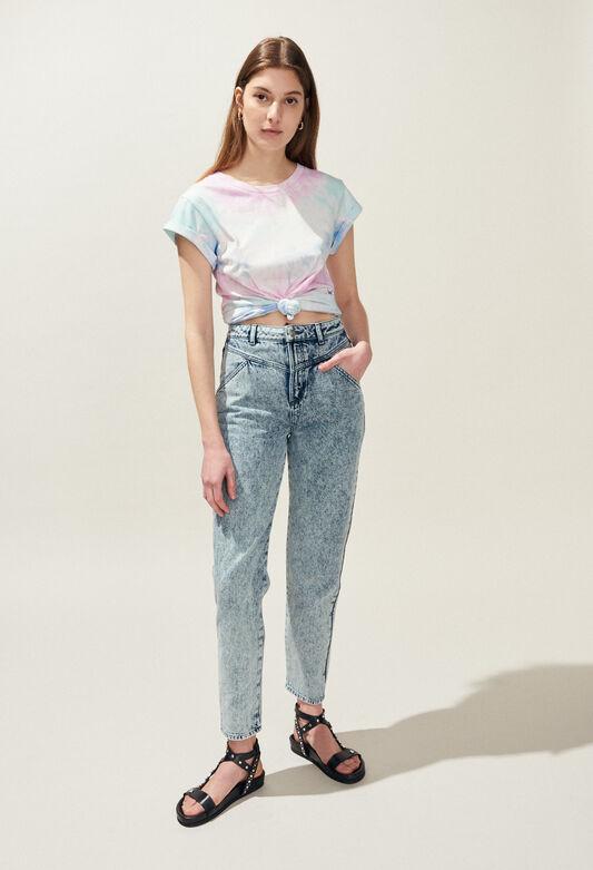 TIE&DYE : T-shirts color MULTICO