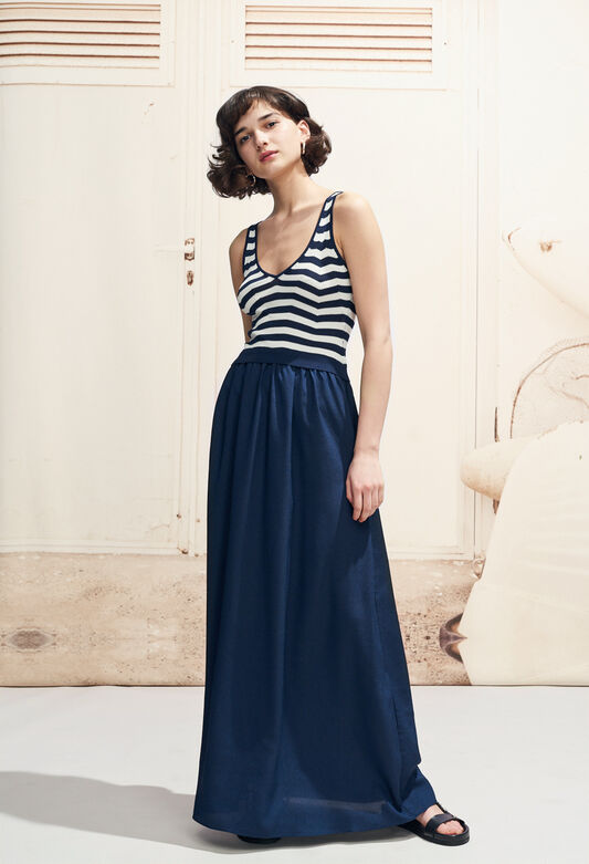 MINTO : Dresses color Navy