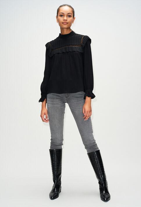 BERGAMOTTEH19 : Tops & Shirts color BLACK