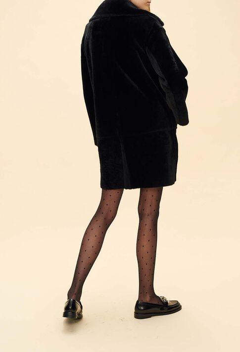 FANCY : Les Vestes & Manteaux couleur Noir