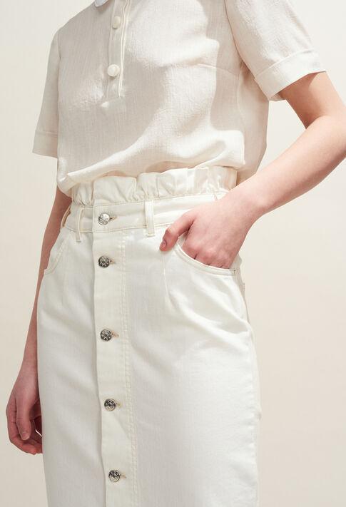 SILVER : Jupes et Shorts couleur Ecru