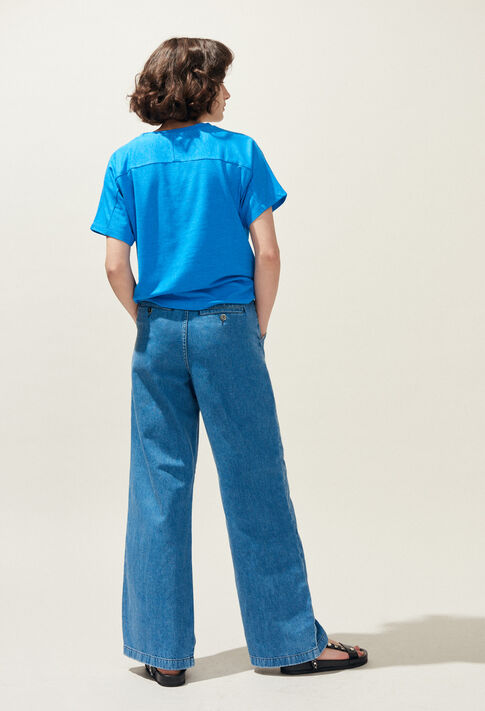 PLOUF : Jeans & Pants color Jean