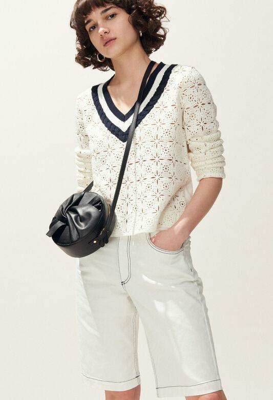 MAINATE : Mailles & Sweatshirts couleur ECRU