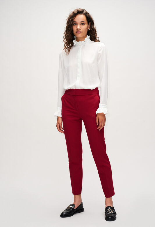 PHANPHANH19 : Jeans & Pants color CERISE