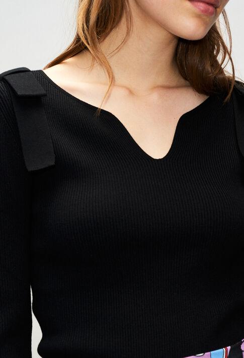 MYHEARTH19 : Maille & Sweatshirts couleur NOIR