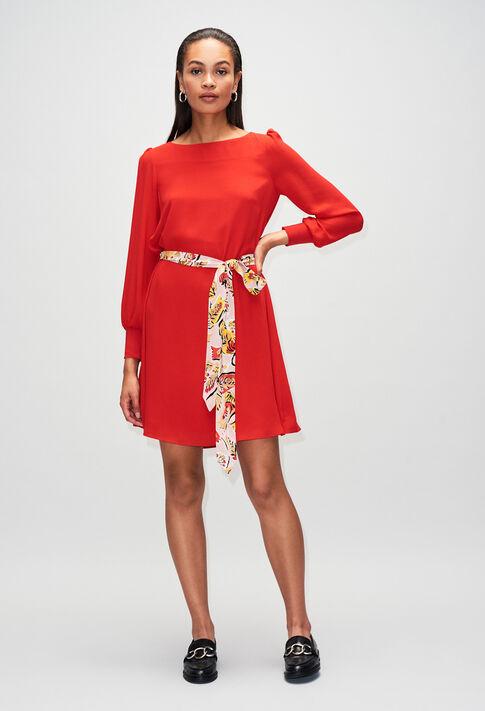RAVAGEUSEH19 : Robes couleur ROUGE
