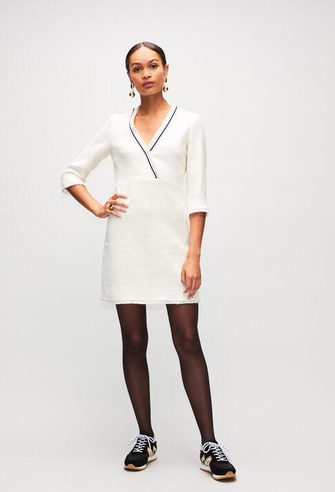 RUFILAH19 : Dresses color CRAIE