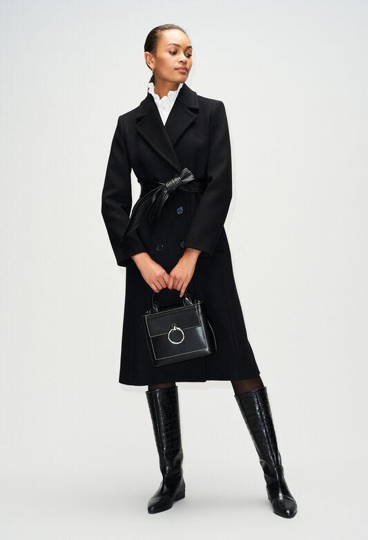 GRATTECIELH19 : Coats & Jackets color BLACK