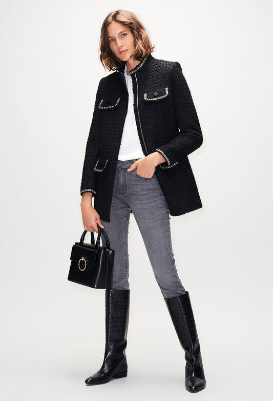 GAUFRETTEH19 : Coats & Jackets color BLACK