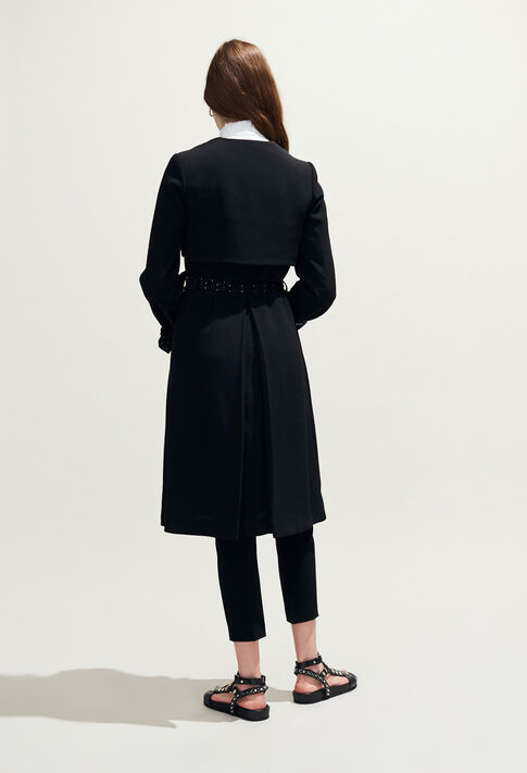 GRACIEUX : Manteaux et Blousons couleur Noir