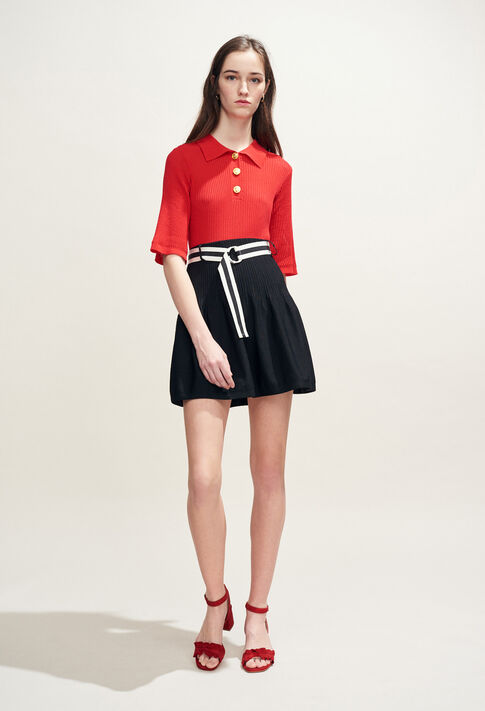 MONACO : Skirts and shorts color Black