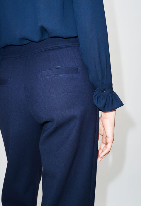 PALMIRAH19 : Jeans & Pants color NAVY