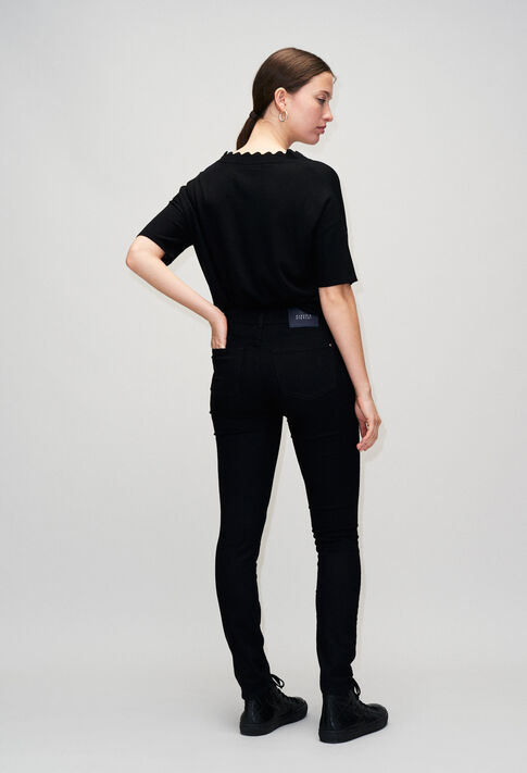 POWERH19 : Jeans & Pants color BLACK