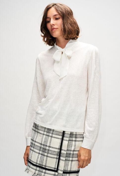 THEORIEH19 : T-shirts color ECRU