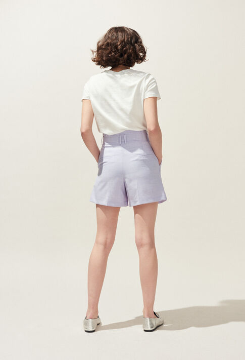 EDWARD : Skirts & Shorts color Lilas