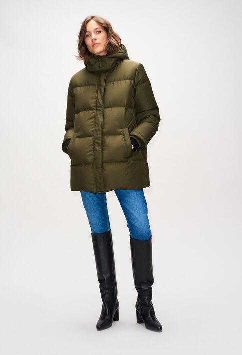 GAVOTTEH19 : Coats & Jackets color KAKI ARMY