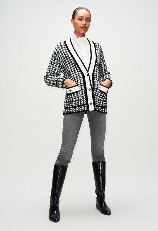 MAXIKLASH19 : Maille & Sweatshirts couleur BICOLORE