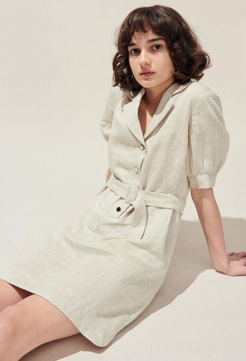 ROSEA : Dresses color Off White