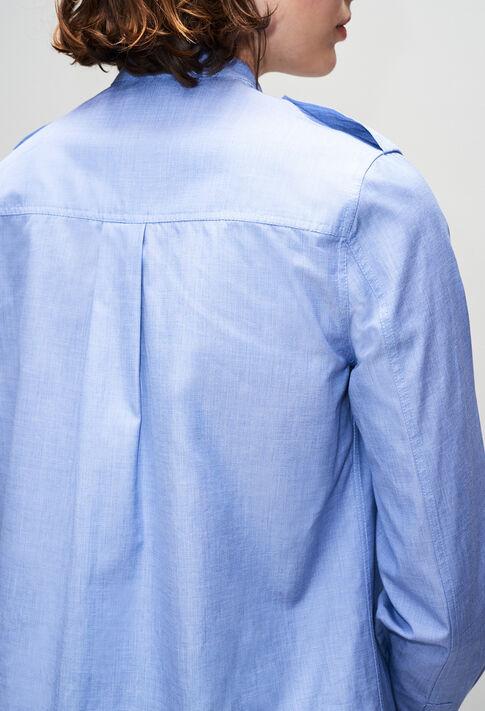 CINOH19 : Tops & Shirts color CHAMBRAY CLAIR - SHIRTING