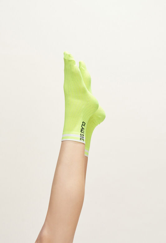 MYSOCKS BIS : Other Accessories color Yellow