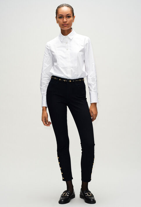 PAPAYEH19 : Jeans & Pants color NAVY