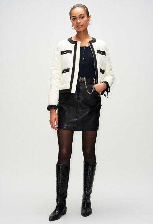 GIGIAH19 : Coats & Jackets color VANILLE