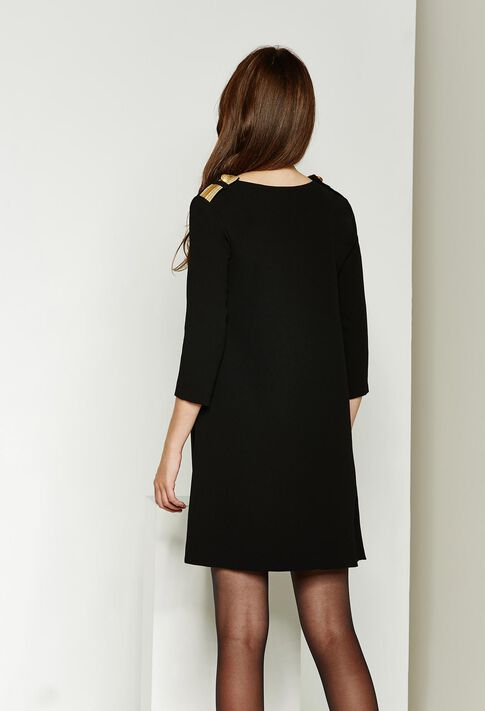 REALLY : Chic officer color Black