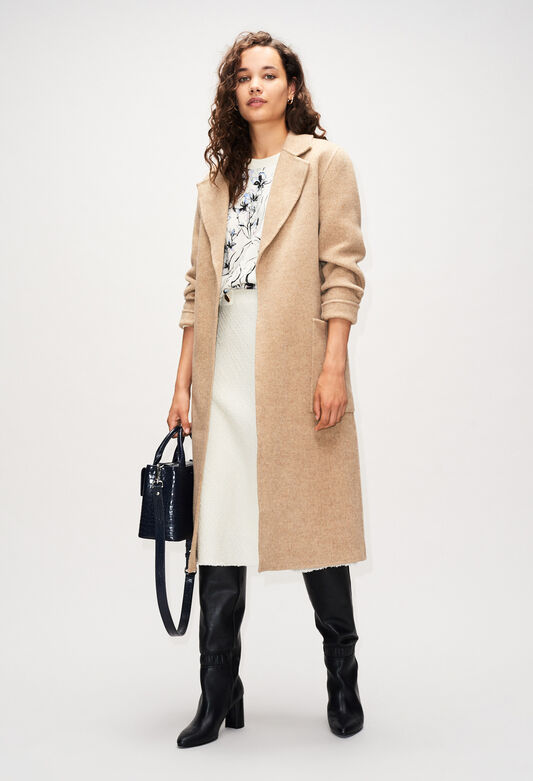 GANIAH19 : Manteaux et Blousons couleur SABLE